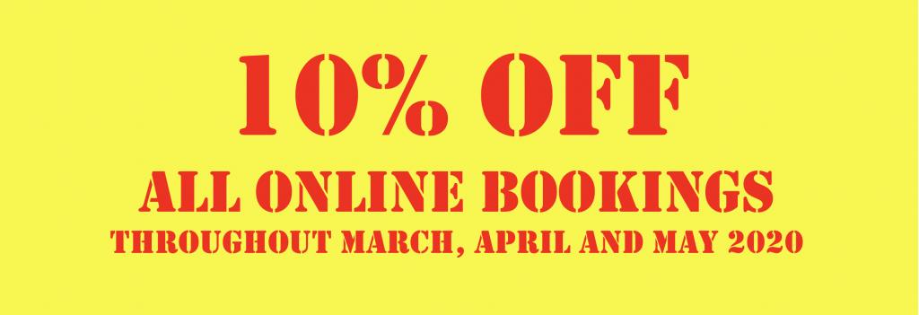 10% Off Online